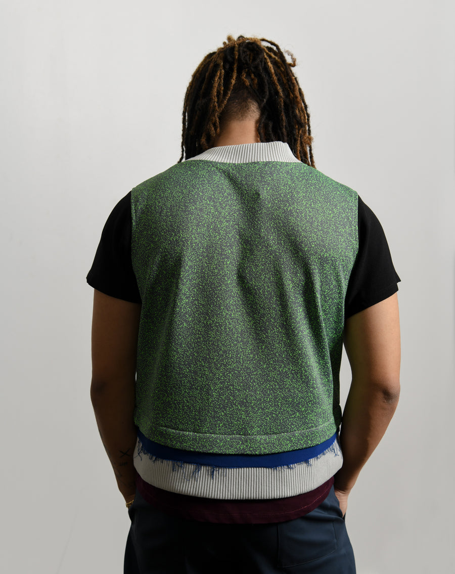Oonga Sweater Green/Grey