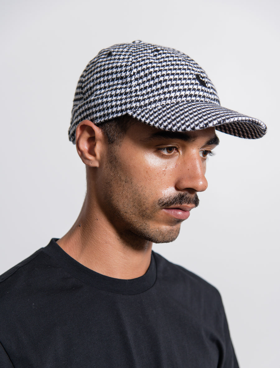 Norvell Check Cap White