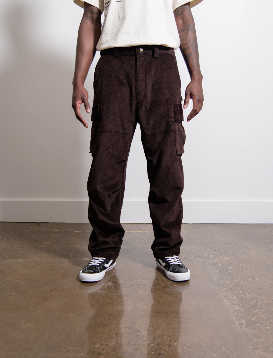 Utility Cargo Pant Brown