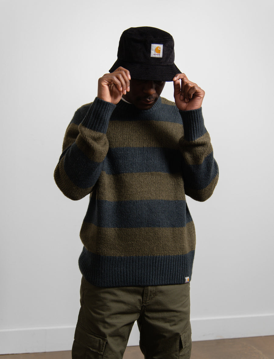 Alvin Knit Sweater Admiral/Cypress
