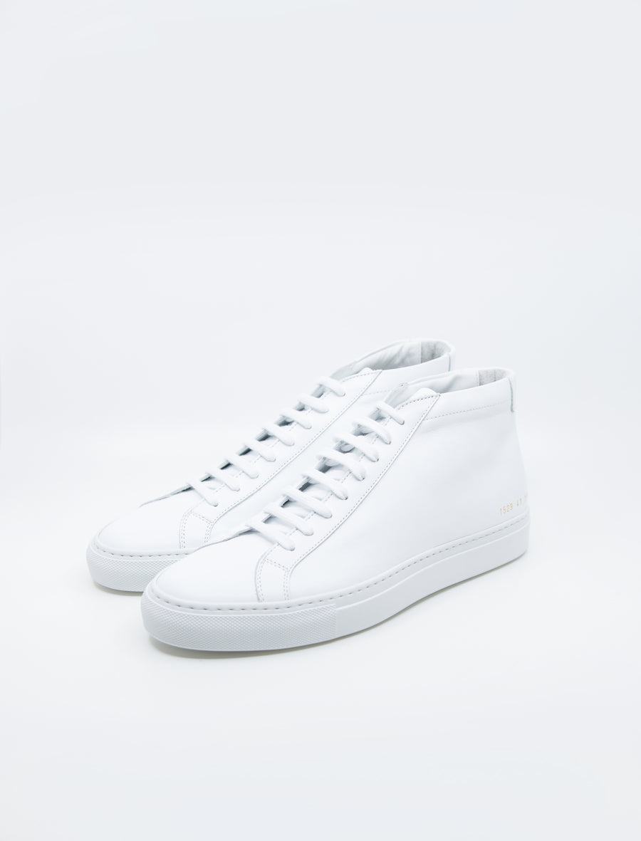 Common Projects Achilles Mid White