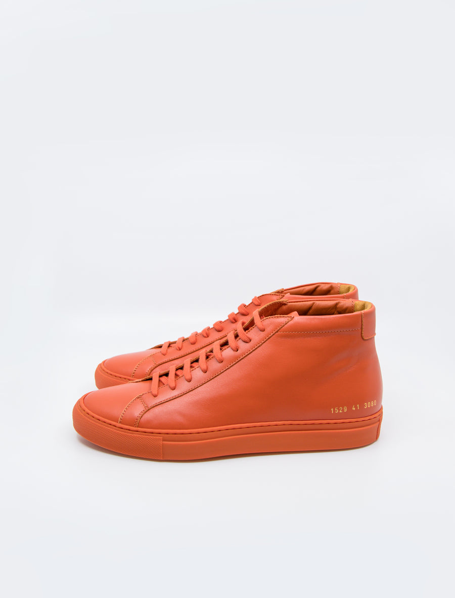 Common Projects Achilles Mid Orange