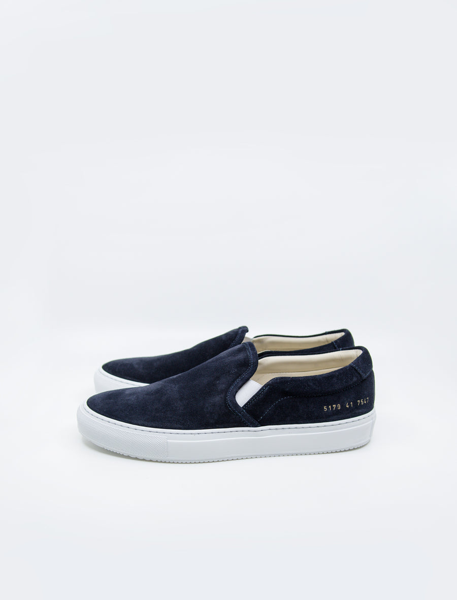 Common Projects Slip-On Suede Black