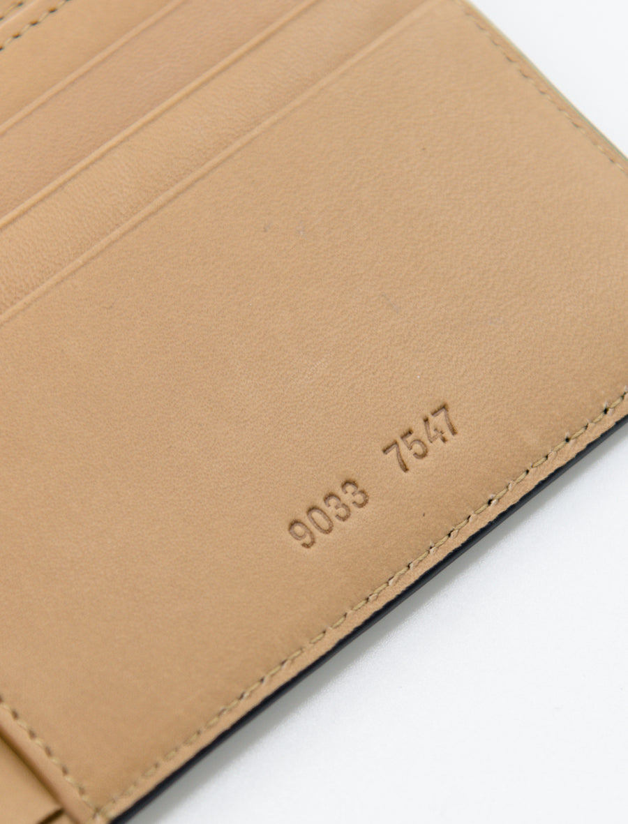 Common Projects Standard Wallet Saffiano Leather Black