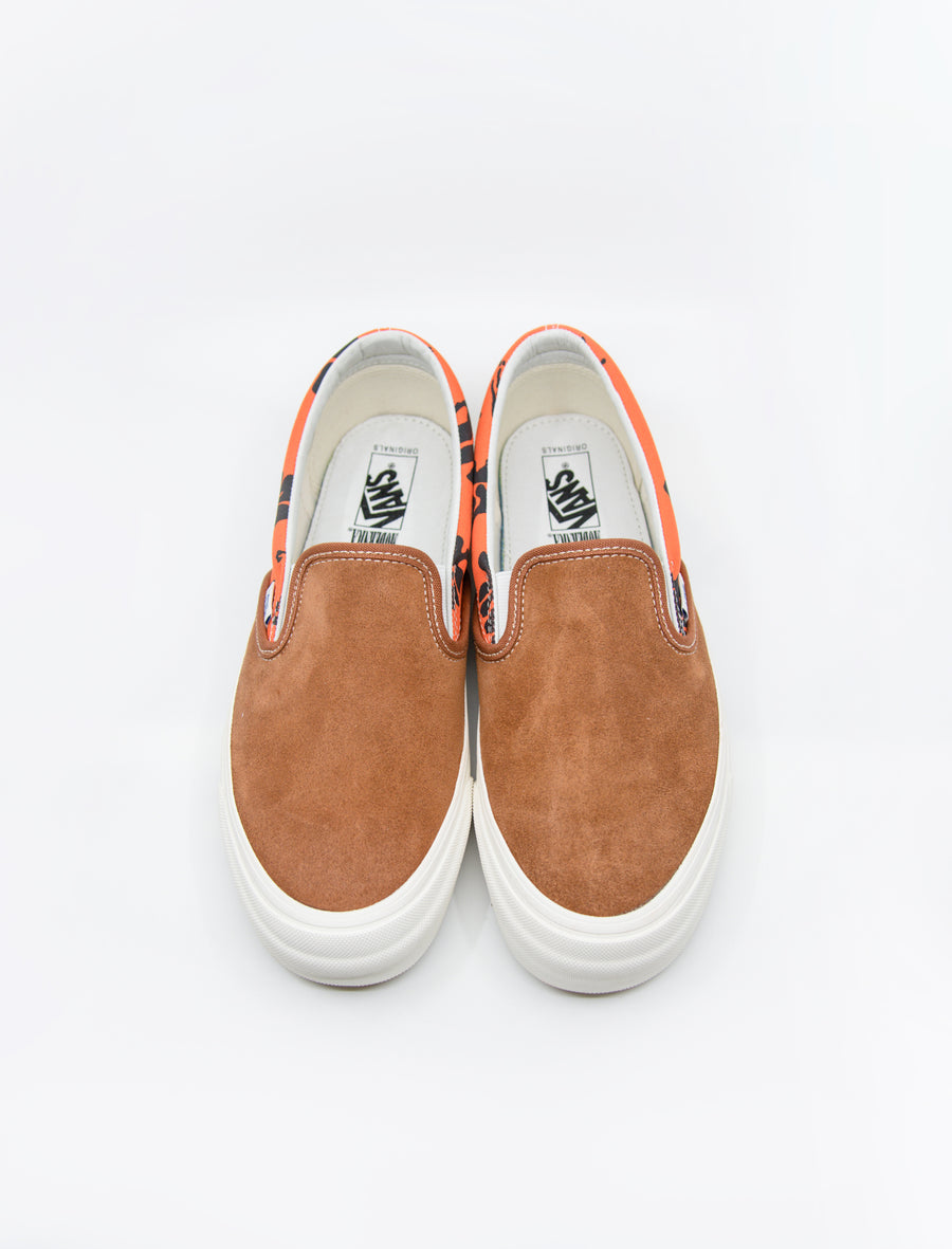 Vans Vault Modernica OG Classic Slip-On Brown Hawaiian