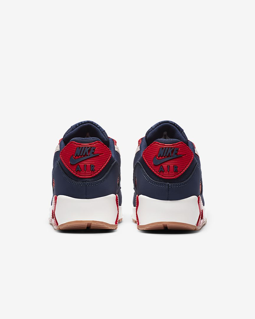 Air Max 90 PRM Sail/University Red/Midnight Navy CJ0611-101