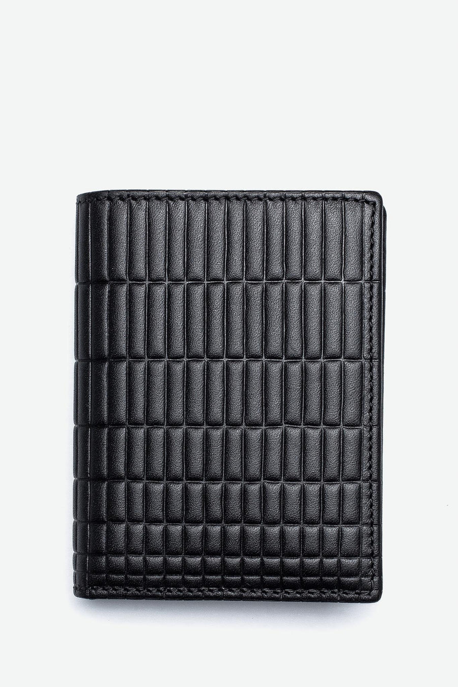 CDG Wallet Brick Bifold Wallet Black