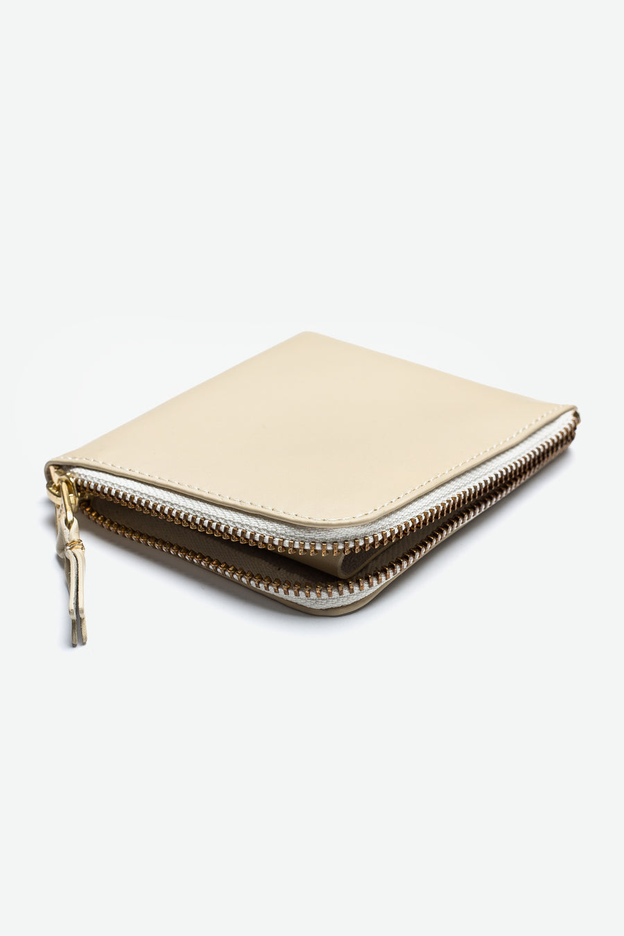 2-Sided Zip Wallet Off-White