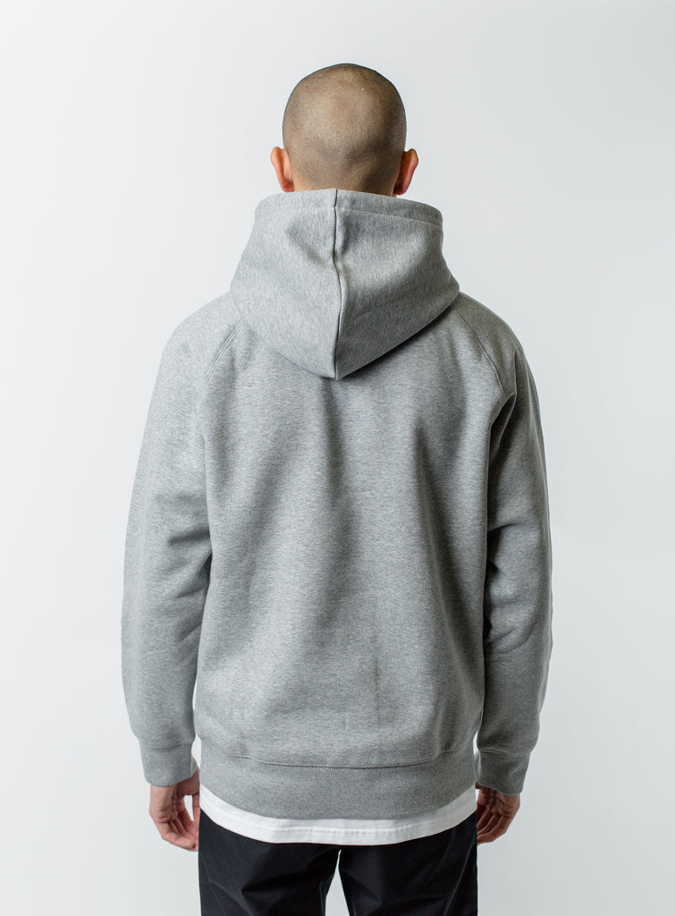 9cbf20083365f ... Carhartt WIP Chase Hoodie Heather Grey ...
