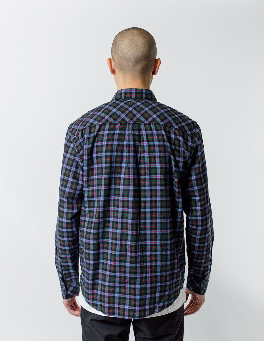 Carhartt WIP L/S Lanark Flannel Shirt Bottle Green