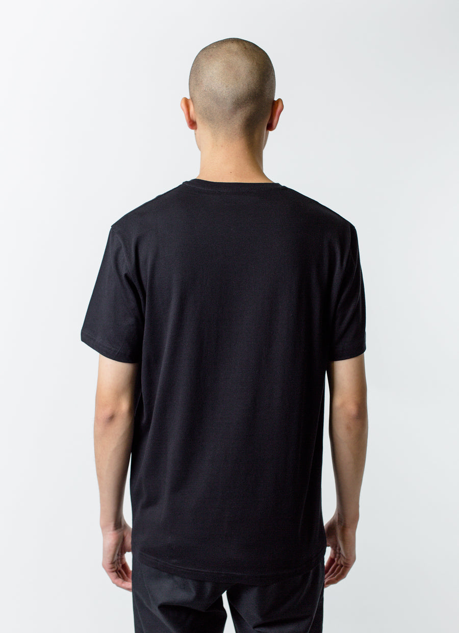 Craig Green Embroidered Hole Tee Black