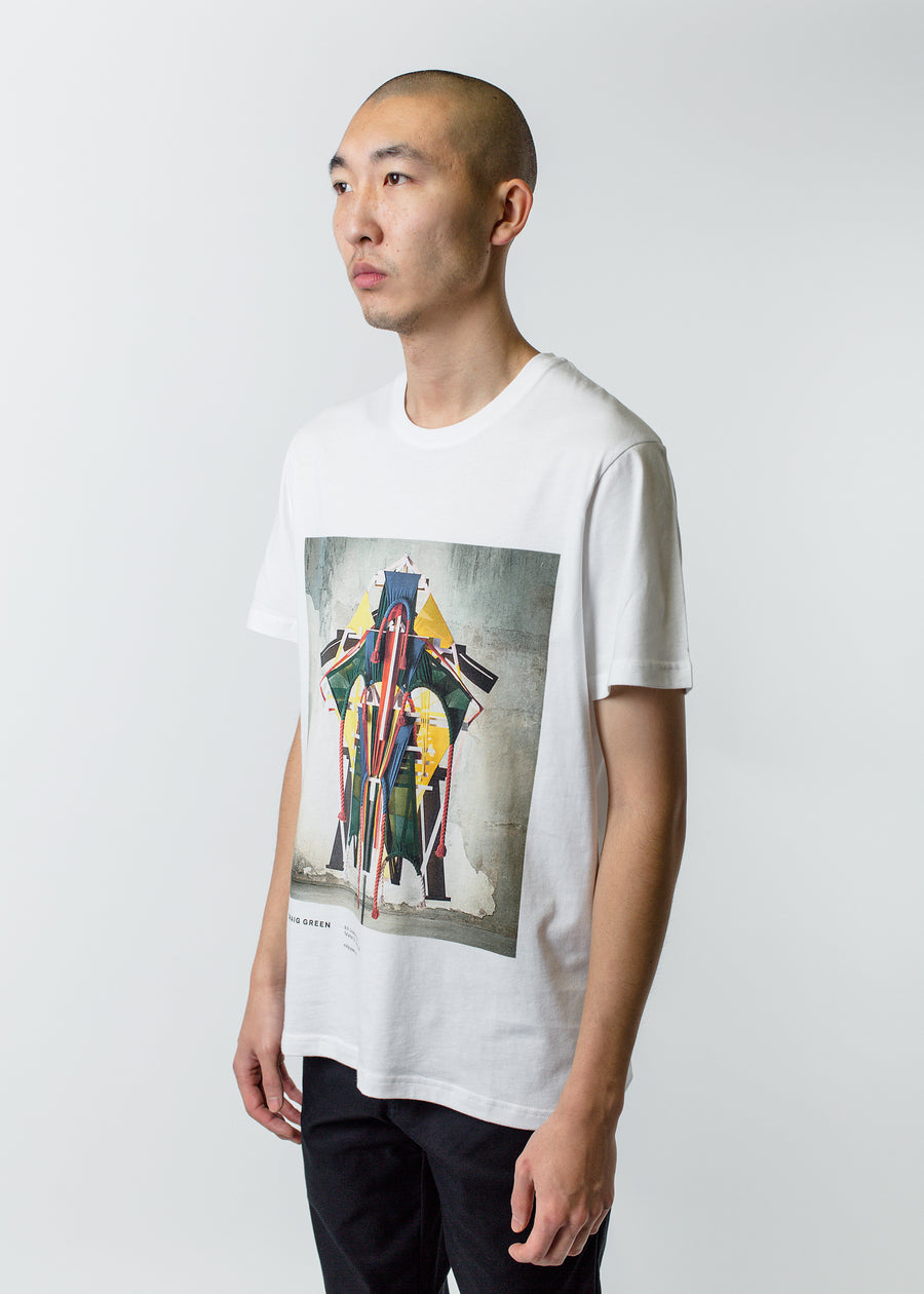Craig Green Constructed Talisman Tee White