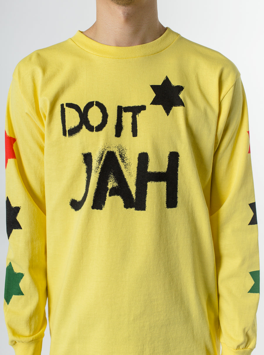 The Duct Tape Years Do It Jah Tee Yellow