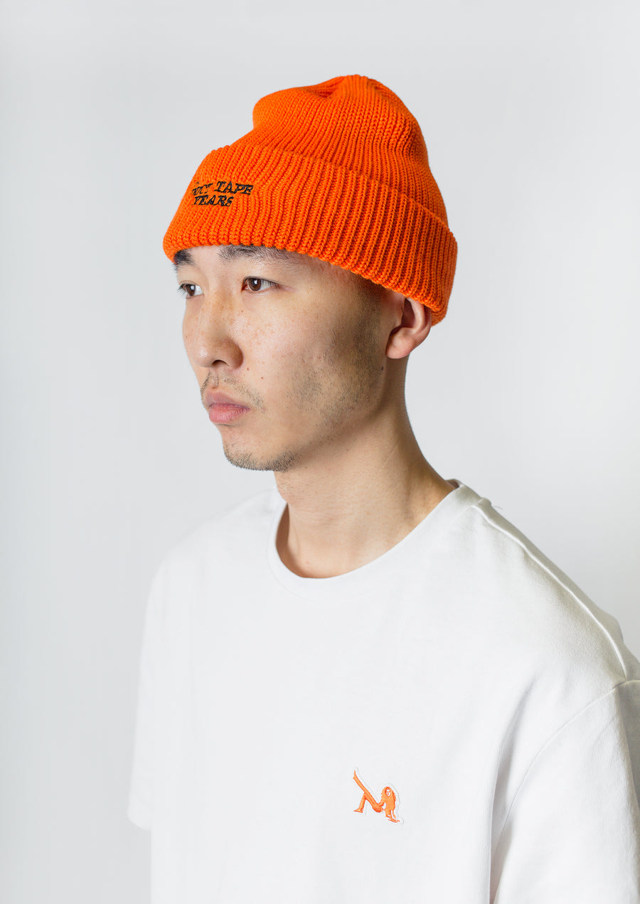The Duct Tape Years Logo Beanie Safety Orange