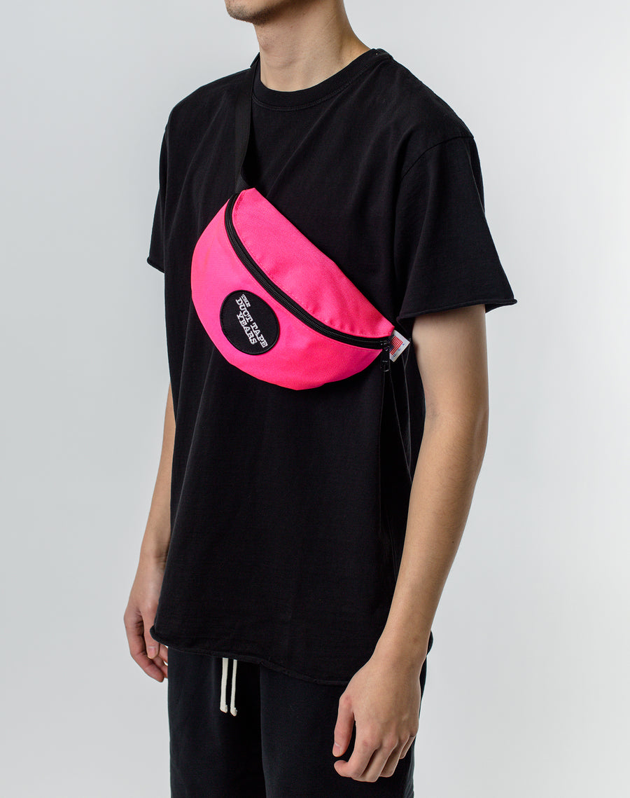 The Duct Tape Years Logo Waist Pack Pink