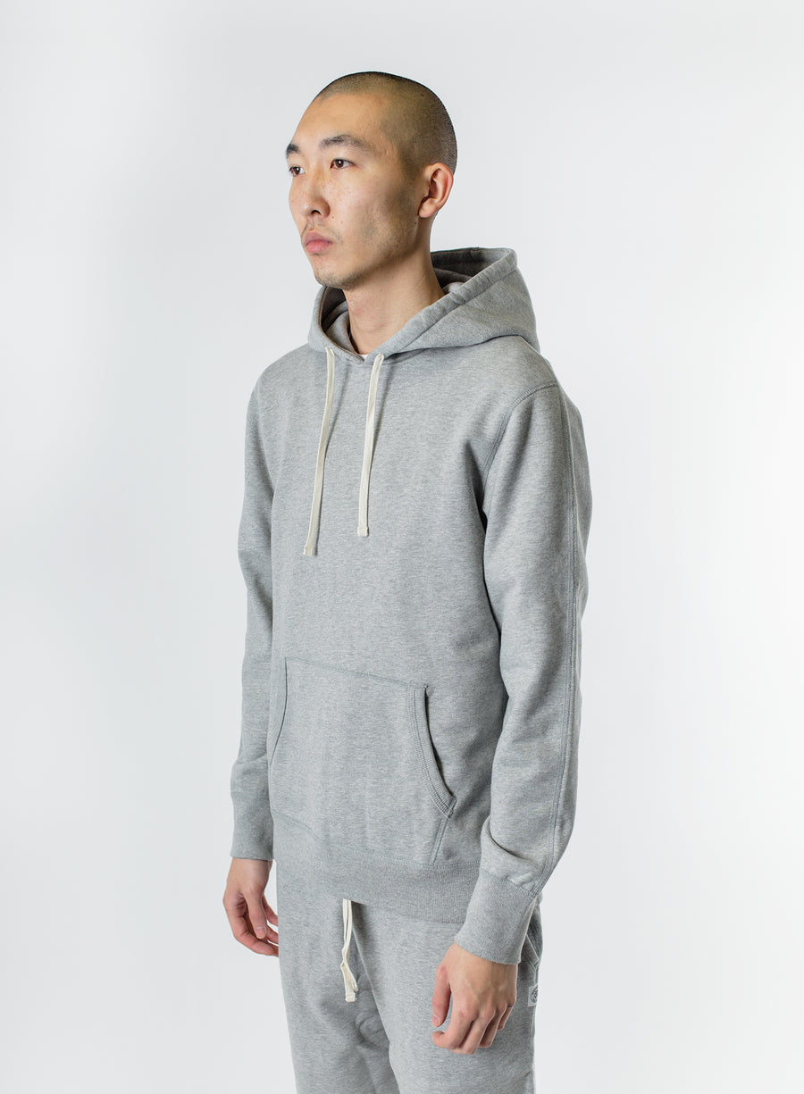 Reigning Champ Midweight Terry Pullover Hoodie Heather Grey