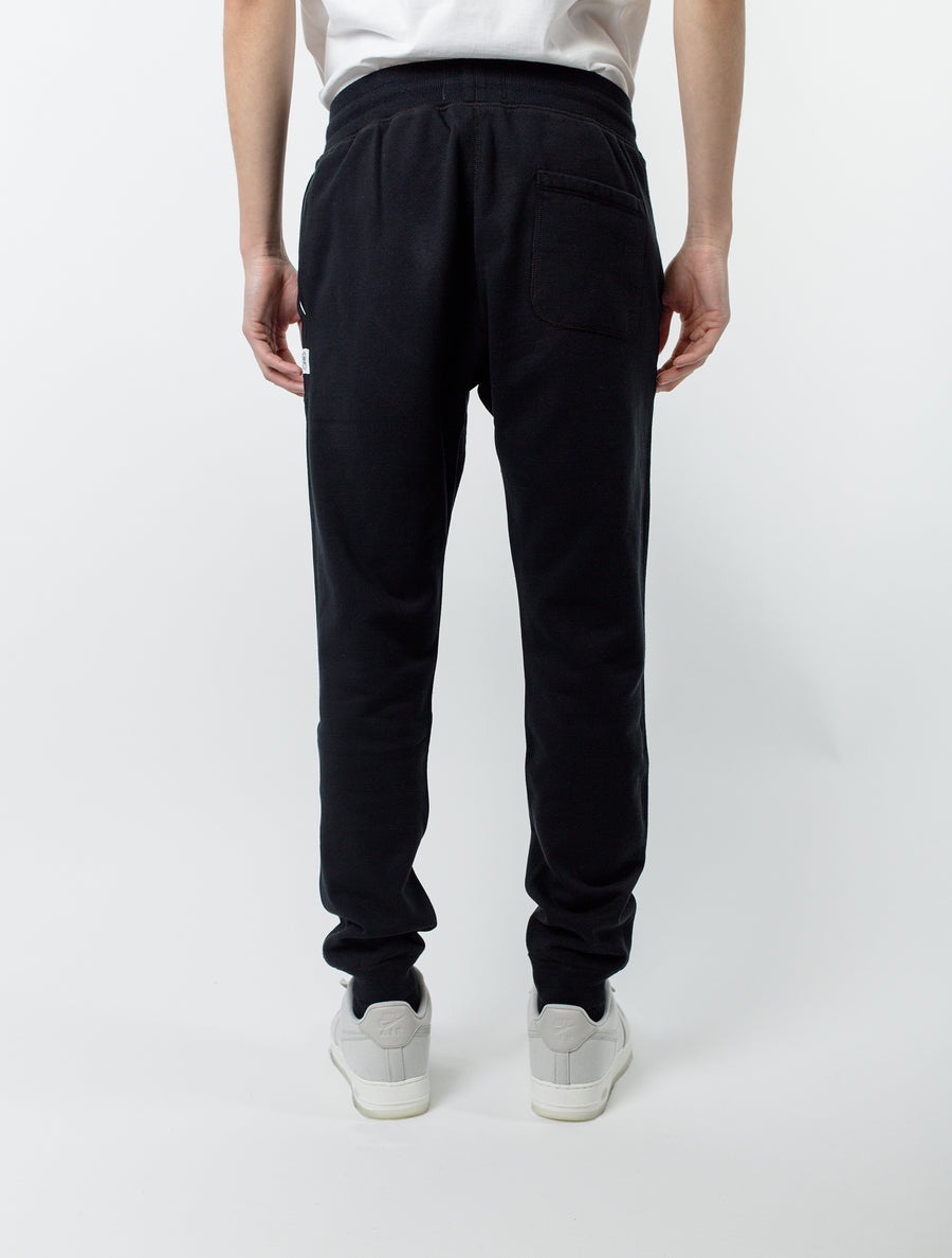 Reigning Champ Slim Sweatpant Black