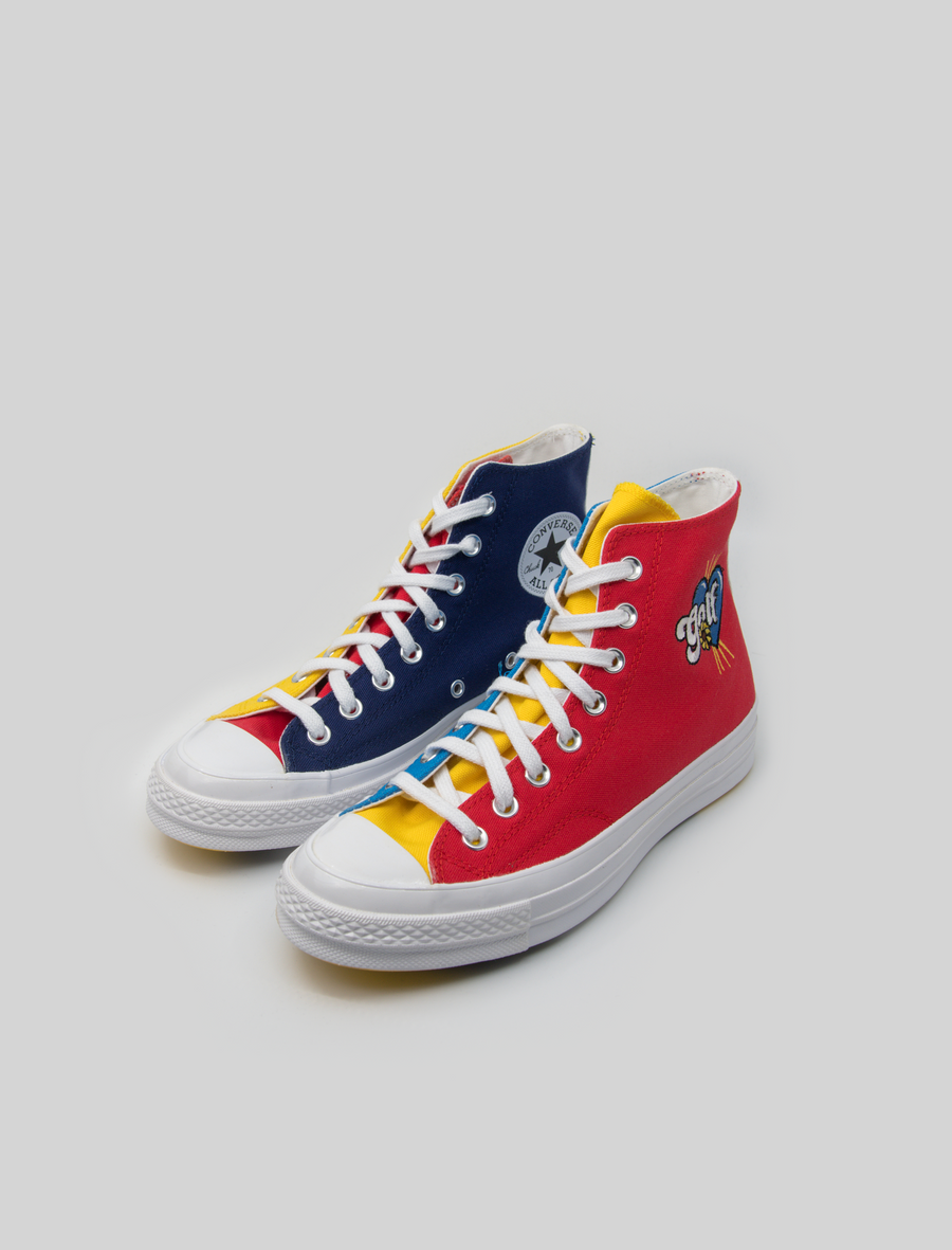 GOLF Chuck 70 Hi Blue/Yellow/Red 169910C