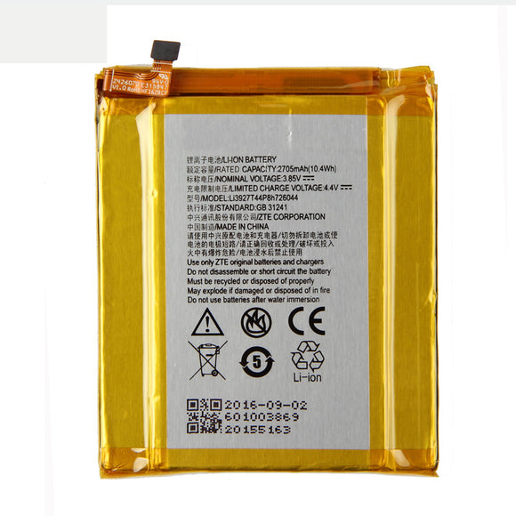 ZTE Li3927T44P8H726044 Phone battery For ZTE Axon 7 Mini 5.2inch 2705mAh