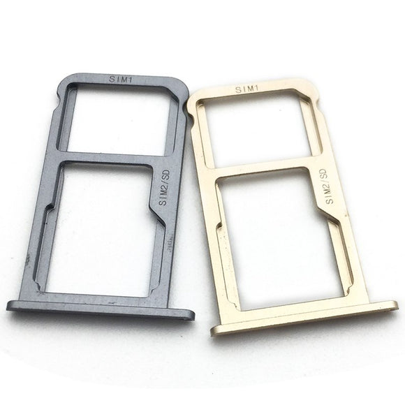 ZTE Axon 7 Sim Card Tray Gold / Grey
