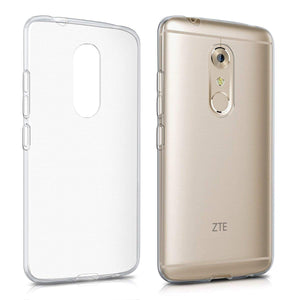 ZTE Axon 7 Soft TPU Case Crystal Clear