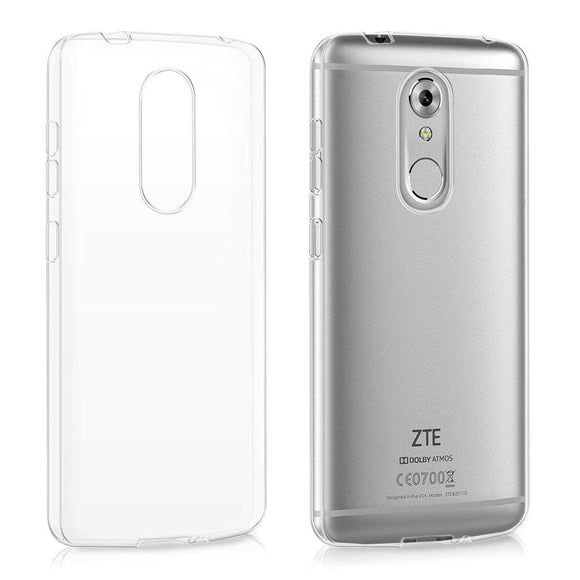 ZTE Axon 7 Mini Soft TPU Case Crystal Clear