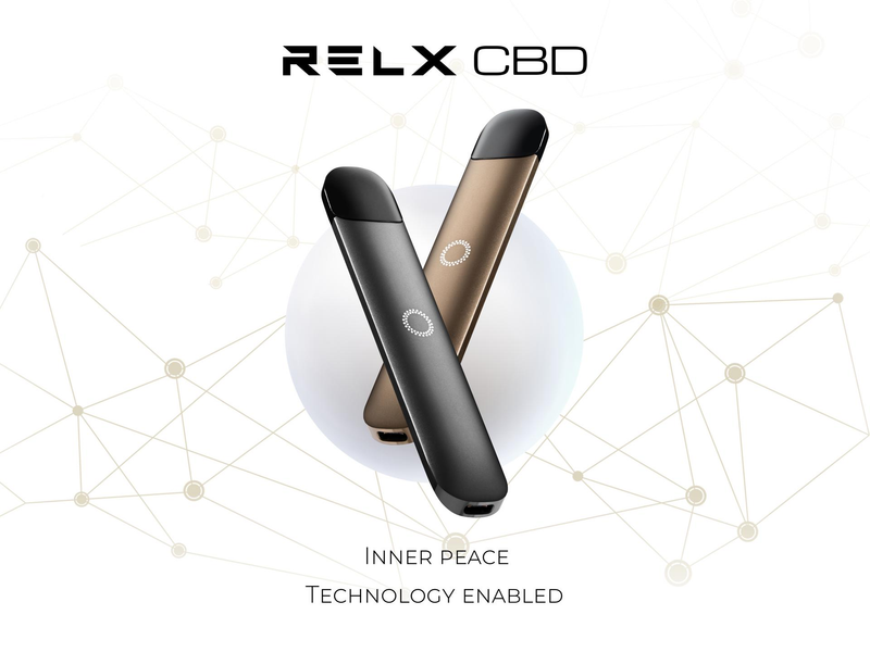 RELX CBD Vape Pods is Landing the UK Market! RELX悦刻CBD烟弹开放销售!