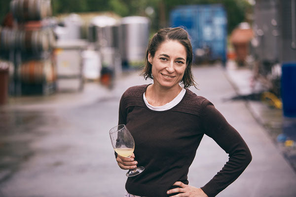 Susuro's winemaker and owner Nikki Palun