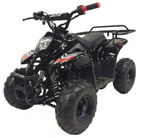 Black MOUNTOPZ 110cc    4 Stroke, Single Cylinder 4 wheeler's
