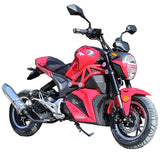 Red//GATOR 50-SRT 50CC, 4 Stroke, Single Cylinder