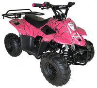 Pink MOUNTOPZ 110cc    4 Stroke, Single Cylinder 4 wheeler's