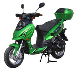 Green//GATOR 50-E2 Scooters  GY-6 50CC Engine, 4 Stroke, Single Cylinder