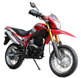 Red, BRANCHO 250, 223CC Engine, 4 Stroke, Single Cylinder