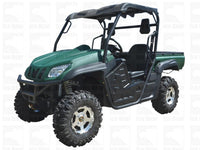 TITAN(UTV650A) 650 cc UTV, Water Cooled, Fuel Injected, 4x4, Locking Differential, Electronic Assisted Power Steering, Dump Bed,and 3000lb Winch