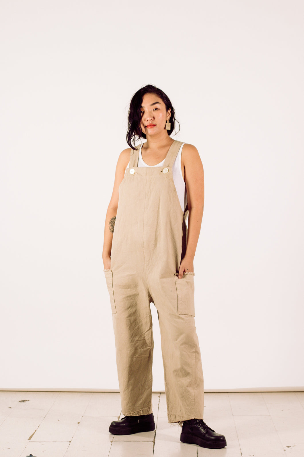 Naturally Dyed Cargo Overall