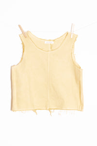Raw Hem Tank (SMALL)
