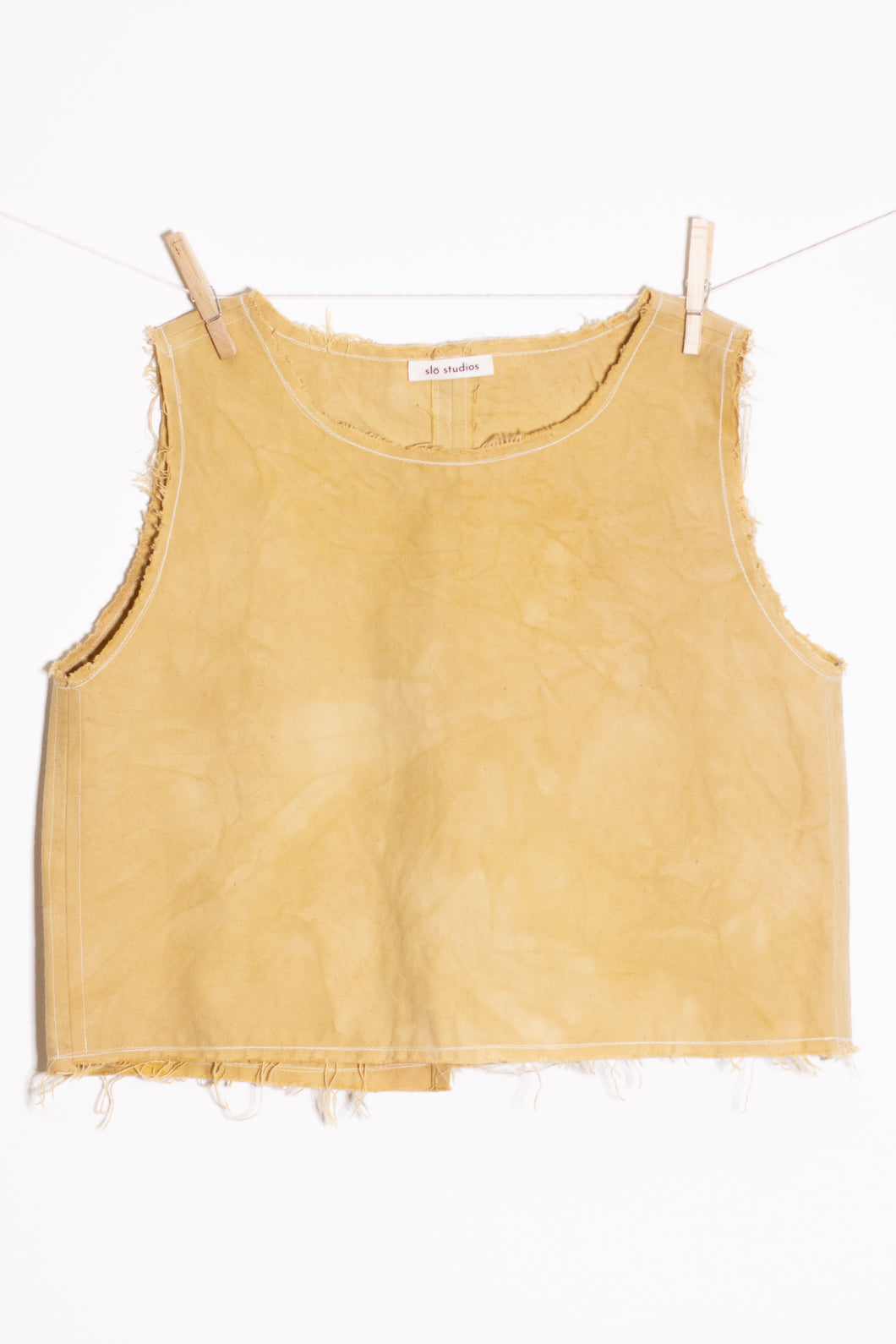 Raw Hem Tank (MEDIUM)