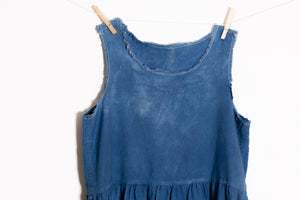 Raw Hem Tank Dress (LARGE)