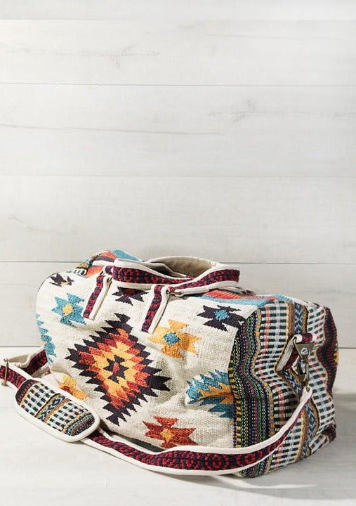 Southwestern Weekender Travel Tote Bag