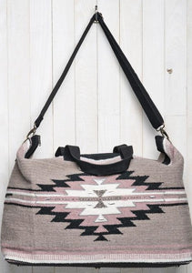 Southwestern Carpet Weekender Travel Bag