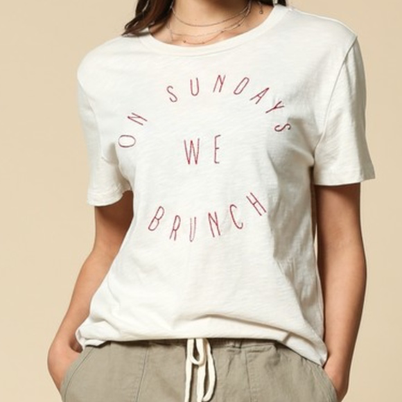 On Sundays We Brunch T-shirt