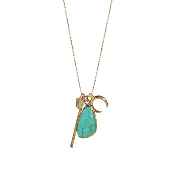 Turquoise Charm Fashion Necklace