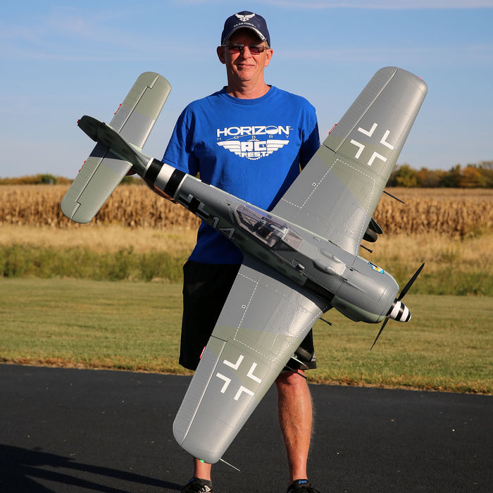 Horizon's Spektrum-Loaded E-flite® Focke-Wulf Drops Next Week