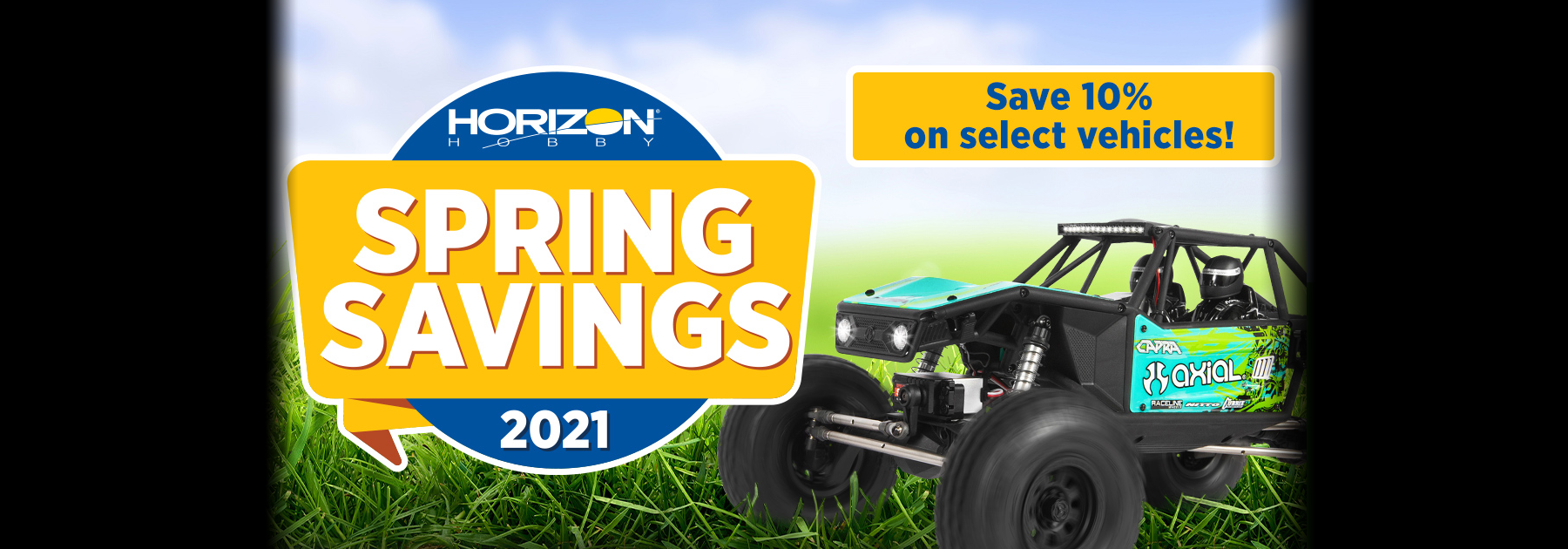Horizon's Spring Savings Starts April 15 2021