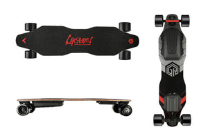 Lycaon GR Electric Skateboard | Long Range Commute Board | Sleek & Solid