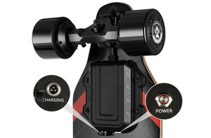 Lycaon GR Electric Skateboard driving wheels and truck