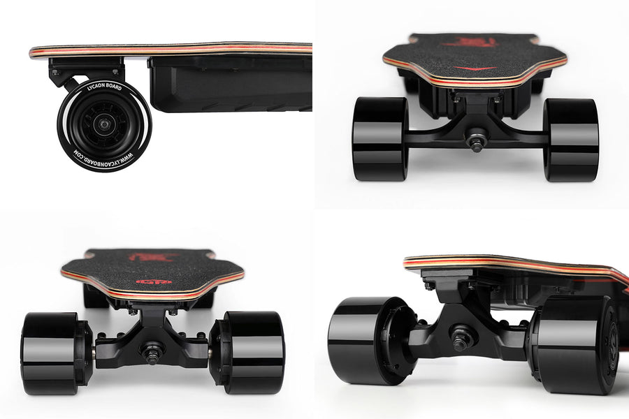 lycaon GR underneath battery longboard truck