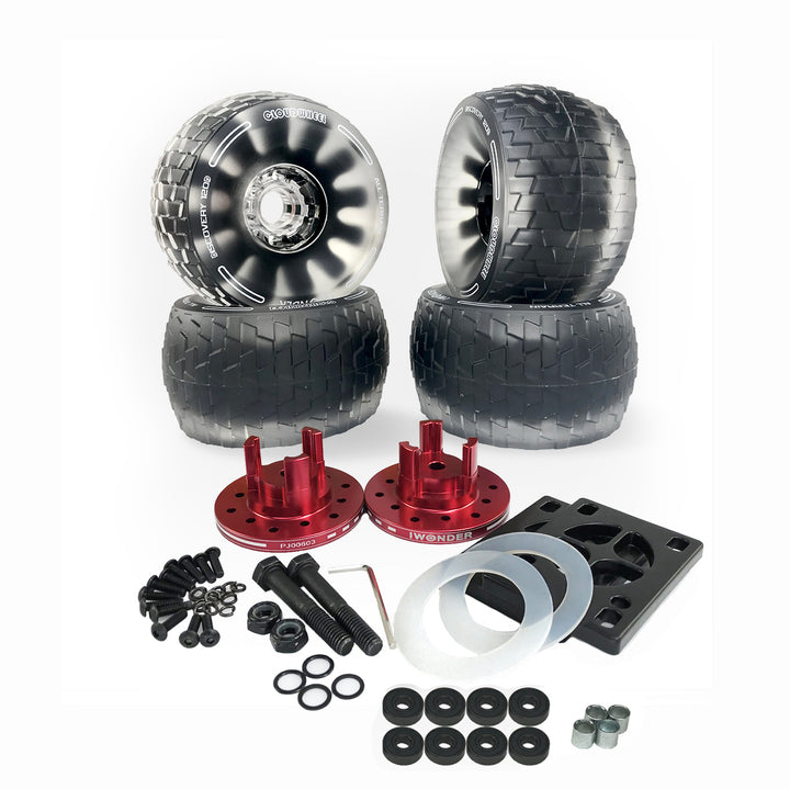 Cloudwheel Discovery All Terrain Wheels  for Lycaon GR