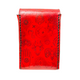 Leather Tarot Card Case - Red
