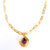 Galileo Amethyst 14K Gold Necklace